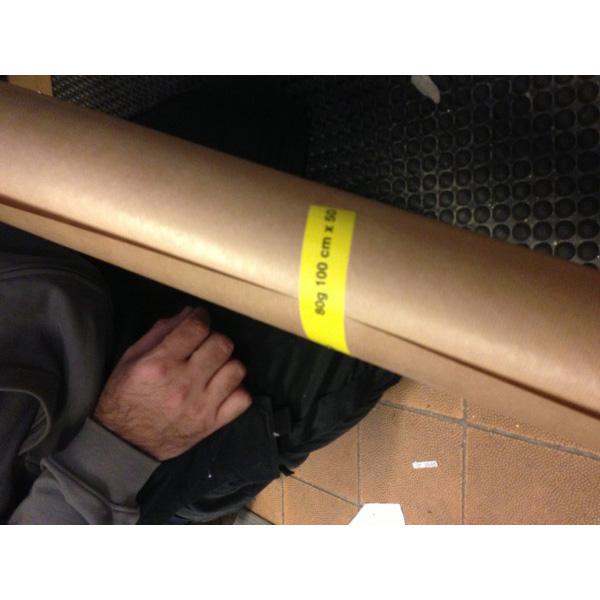 Indpakningspapir brun